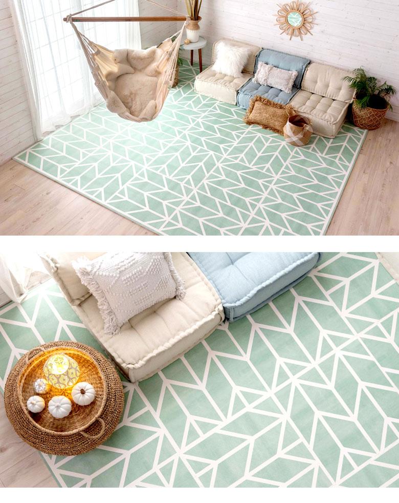 どんなお部屋にも合わせやすい。ミントグリーン。